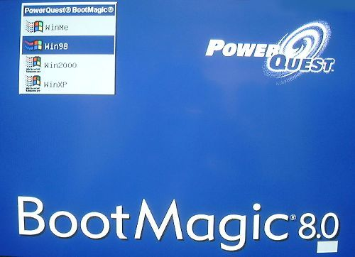 boot magic powerquest